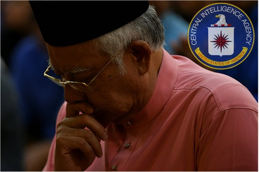 Najib Razak - Letter to CIA Begging For Support