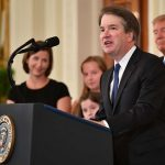 Brett Kavanaugh For Supreme Court - Conservatives & Corporate Cheered With Cheese & Champagne