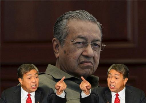 UMNO President Zahid Hamidi Provoke Mahathir Mohamad