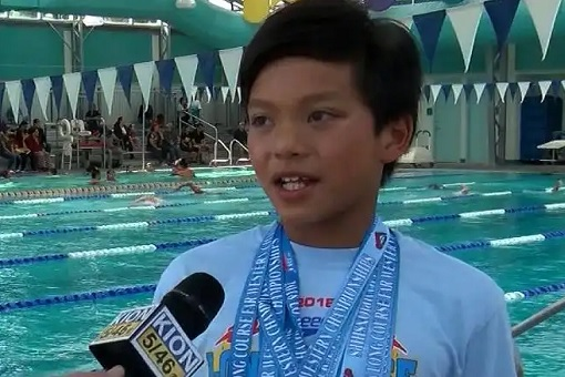 Clark Kent Apuanda Superman - Broke Michael Phelps Record