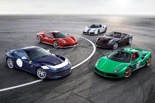 Ferrari Sports Car Models