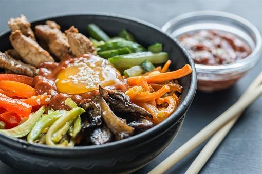 Food - Bibimbap in Seoul, South Korea