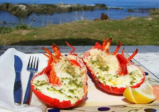 Food - Crayfish in Kaikoura, New Zealand