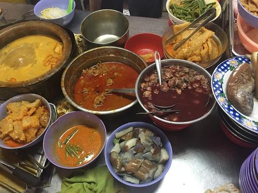 Food - Curry Laksa in Kuala Lumpur, Malaysia - Ingredients