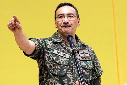Hishammuddin Hussein - Military Fatigues