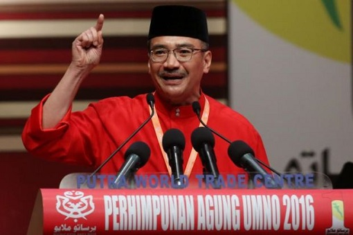 Hishammuddin Hussein - UMNO Assembly 2016 Speech