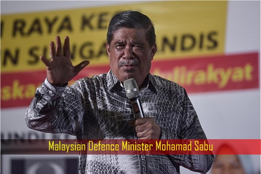 Malaysian Defence Minister Mohamad Sabu