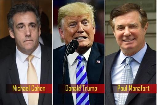 Scandal - Michael Cohen, Donald Trump and Paul Manafort