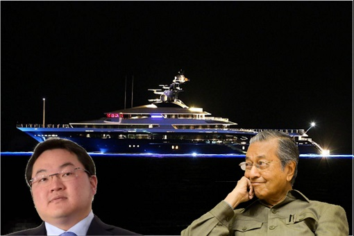 The Equanimity Super Yacht - Jho Low and Mahathir