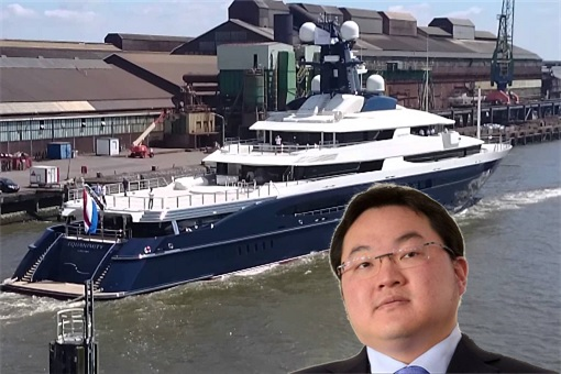 The Equanimity Super Yacht - Jho Low