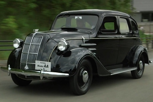 Toyota 1936 Model AA