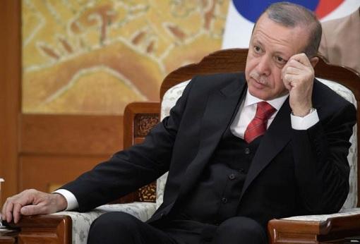 Turkish President Recep Tayyip Erdogan - Worry