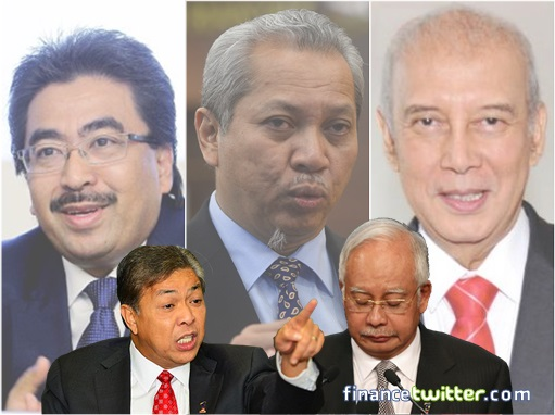 UMNO Brotherhood My Foot!! - Ungrateful Warlords Sharpening Knives For Najib's Head