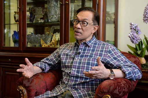 Anwar Ibrahim - Interviewed - Dressed Casually