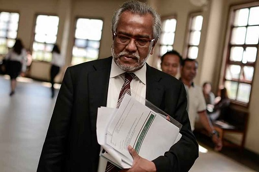 Lawyer Shafee Abdullah - Sad Face