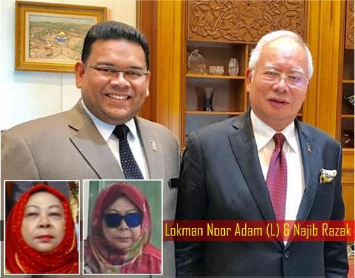 Lokman Noor Adam and Najib Razak - Spy Chief Hasanah