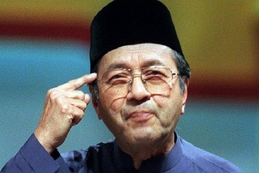 Mahathir Mohamad - Think With Head Gesture
