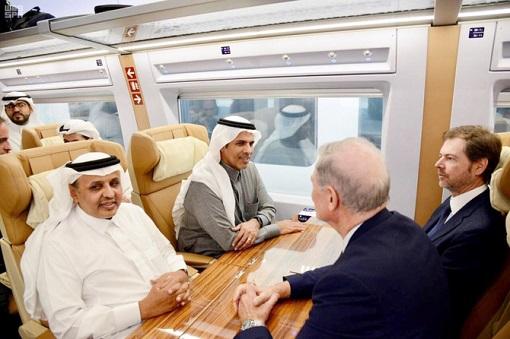 Saudi Arabia Haramain High Speed Rail HSR - Interior 2