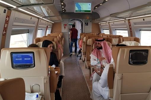 Saudi Arabia Haramain High Speed Rail HSR - Interior