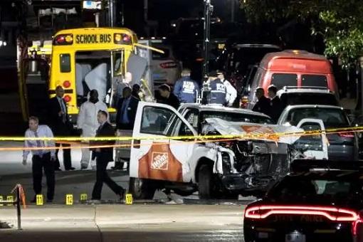 USA Terrorist Attack - Sayfullo Saipov - Lower Manhattan