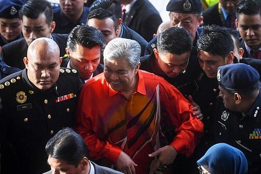 Ahmad Zahid Hamidi - Arrested and Charged