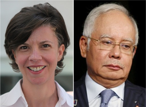 Al-Jazeera Interview - Najib Razak and Mary Ann Jolley