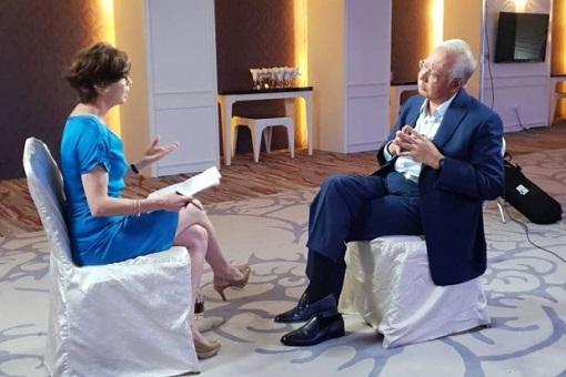 Al-Jazeera Interview - Najib Razak with Mary Ann Jolley