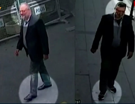 Jamal Khashoggi Body Double Mustafa al-Madani - Wrong Shoes