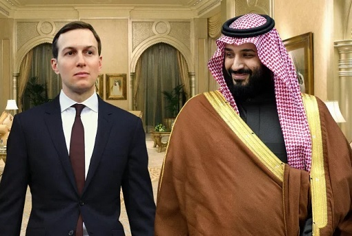 Jared Kushner and Saudi Crown Prince Mohammed bin Salman