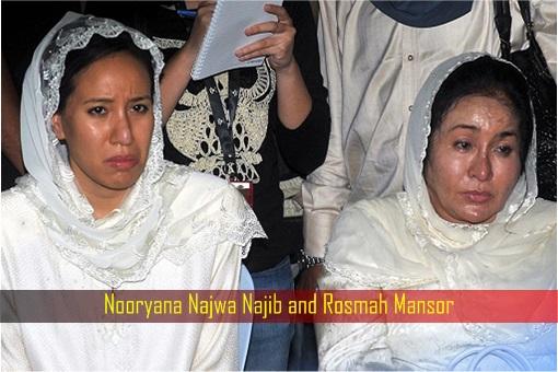 Nooryana Najwa Najib and Rosmah Mansor