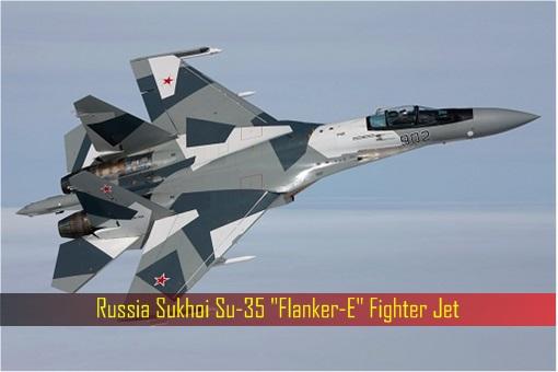 Russia Sukhoi Su-35 Flanker-E Fighter Jet