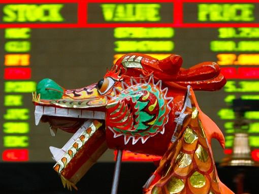 Stock Market - Dragon - Chinese New Year