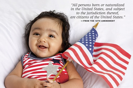 Trump To Eliminate Birthright Citizenship - 14th Amendment - Baby