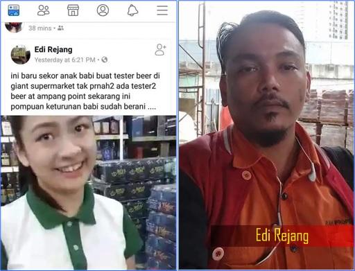 Carlsberg Beer Fiasco - Racist Edi Rejang Insult Chinese Promoter