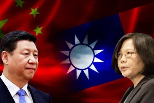 China President Xi Jinping and Taiwan President Tsai Ing-wen