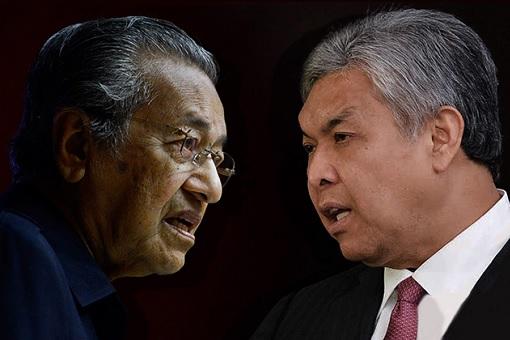 Mahathir Mohamad VS Zahid Hamidi