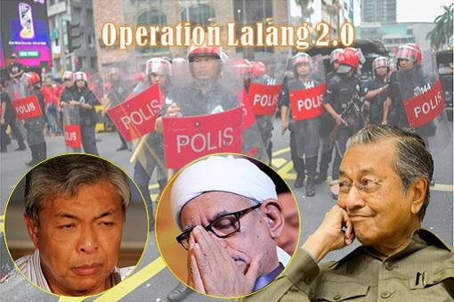 Operation Lalang 2 - Zahid Hamidi and Hadi Awang - Mahathir Mohamad