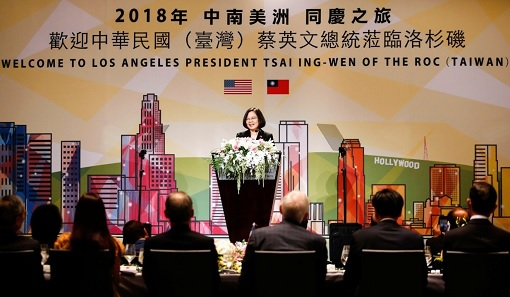 President Tsai Ing-wen Visit to Los Angeles, United States