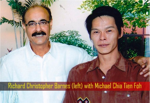 Richard Christopher Barnes with Michael Chia Tien Foh