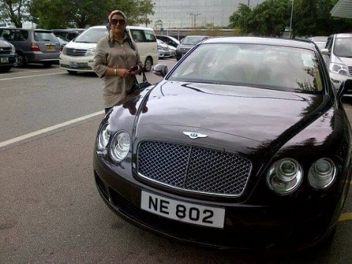 Speaker Pandikar Aman Mulia Wife with Bentley