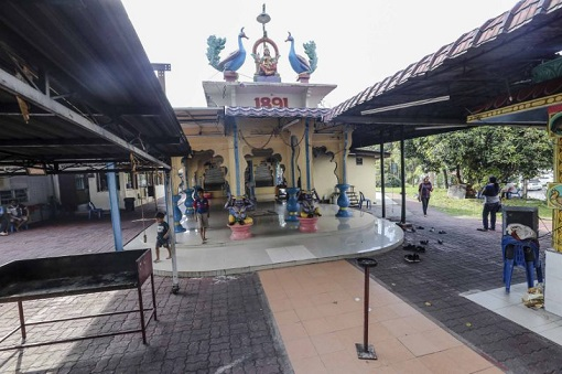 Subang Jaya Sri Maha Marianmman Temple Riot - Temple View