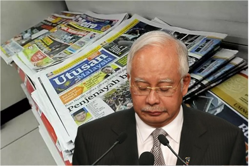 Najib Has Lost A Powerful Propaganda Machine - Utusan Makes A U-Turn, Accusing Ex-Boss Of Being A Crook