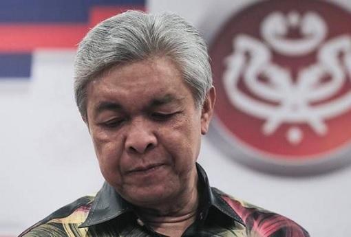 Ahmad Zahid Hamidi - Quit UMNO - Dejected