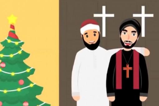 Christmas Cartoon Video - Encourages Greetings