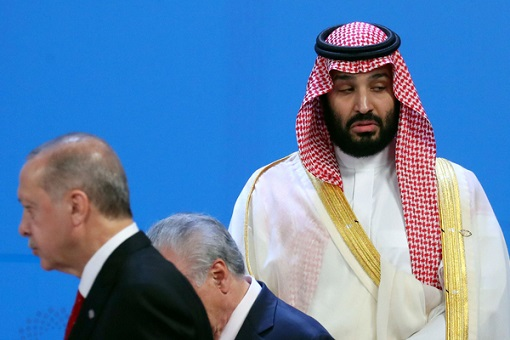 G20 Summit – Saudi Crown Prince Being Ignored and Left Alone 2