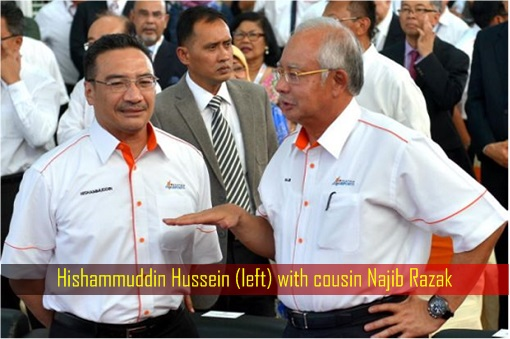 Act Of Treason - Cousin Brothers Najib & Hishammuddin Deployed Military To
