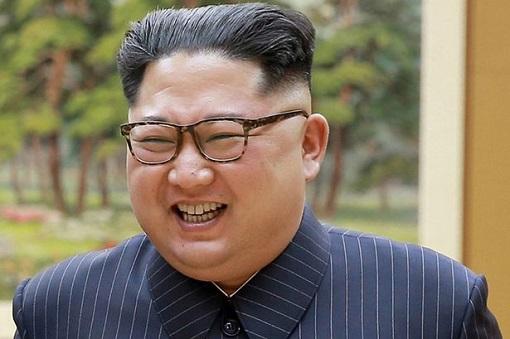 Kim Jong-un - Laughing