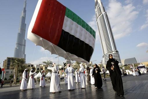 United Arab Emirates - UAE Balloon Flag