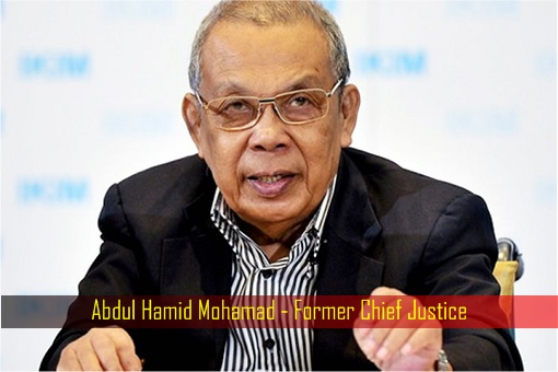 Abdul Hamid Mohamad - Former Chief Justice