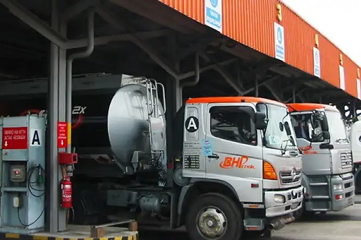 BHP Petrol Truck - Distribution Terminal